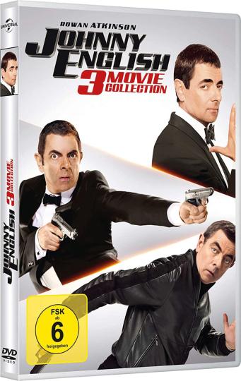 Johnny English Box. 3 DVDs