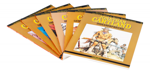 Jonathan Cartland. Comic Paket. 6 Bände.