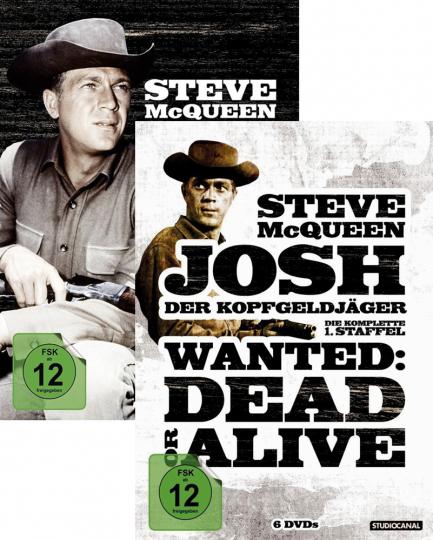 Josh, der Kopfgeldjäger Season 1 & 2 im Paket. 12 DVDs.