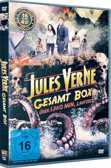 Jules Verne Gesamtbox. 4 DVDs.