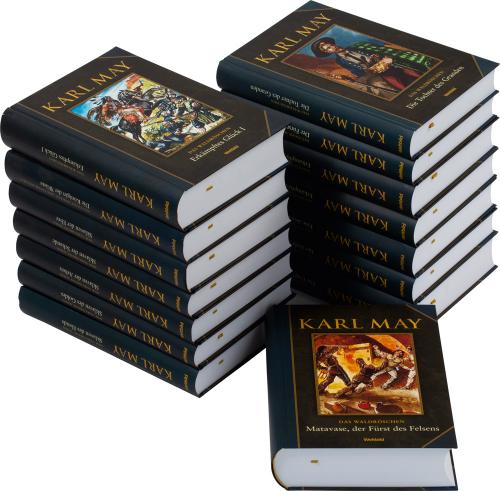 Karl May Paket. 15 Bände.