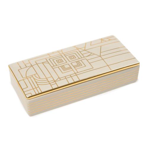 Keramikdose »Frank Lloyd Wright«.