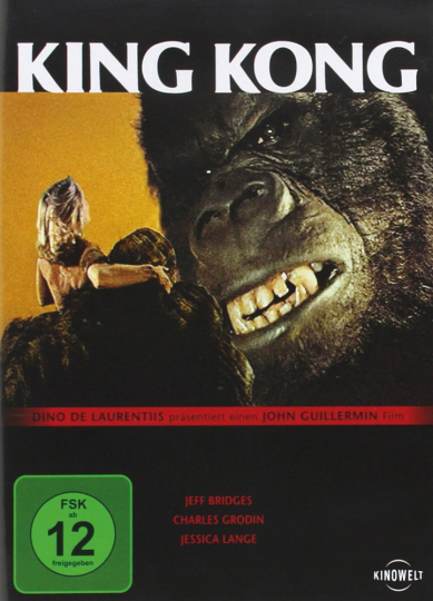 King Kong. DVD.