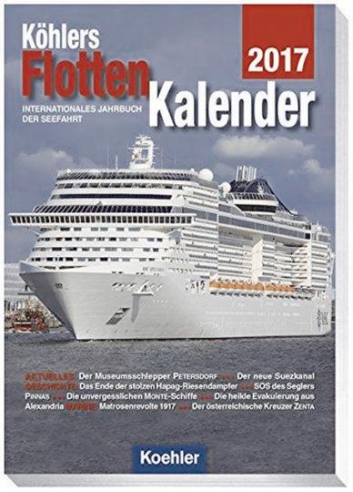 Köhlers Flottenkalender 2017