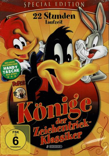 Könige der Zeichentrickklassiker. 8 DVDs.