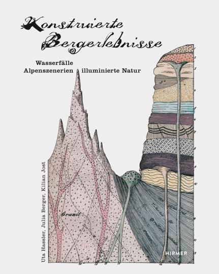 Konstruierte Bergerlebnisse. Wasserfälle, Alpenszenerien, illuminierte Natur.