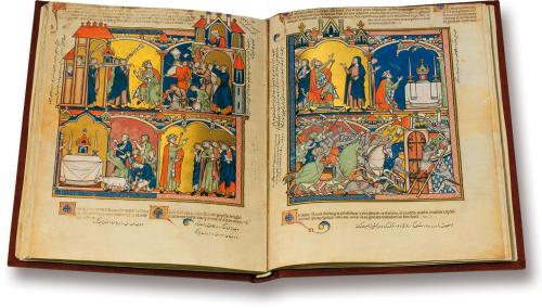 Kreuzritterbibel Ludwigs IX. des Heiligen. Faksimile.