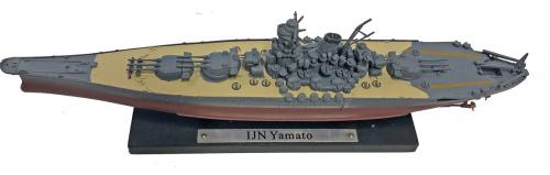 Kriegsschiff IJN Yamato 1945 - Maßstab 1:1.250.