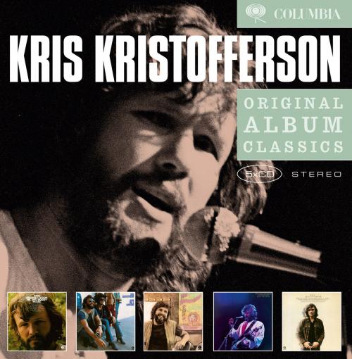 Kris Kristofferson. Original Album Classics. 5 CDs.