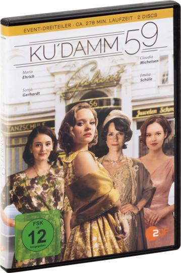 Ku'damm 59 2 DVDs