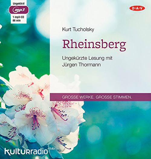 Kurt Tucholsky. Rheinsberg. mp3-CD.
