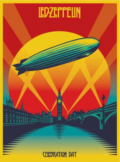 Led Zeppelin. Celebration Day: Live 2007. 2 CDs, 1 Blu-ray Disc.