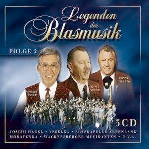 Legenden der Blasmusik - Folge 2 3 CDs