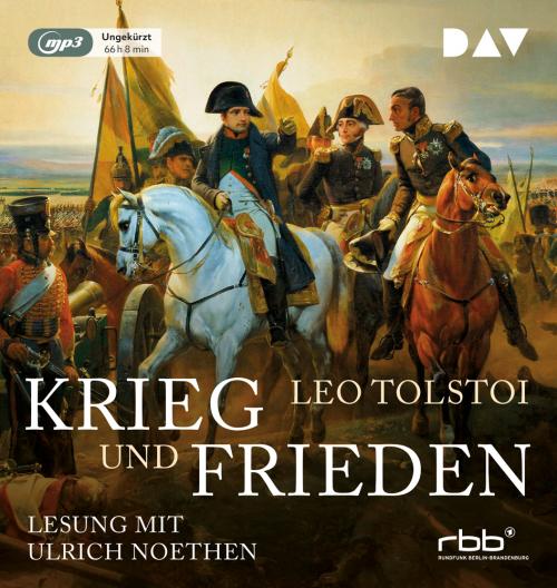 Leo Tolstoi. Krieg und Frieden. Hörbuch. 6 mp3-CDs.