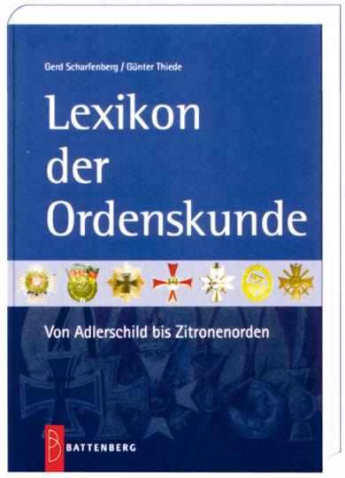 Lexikon der Ordenskunde.