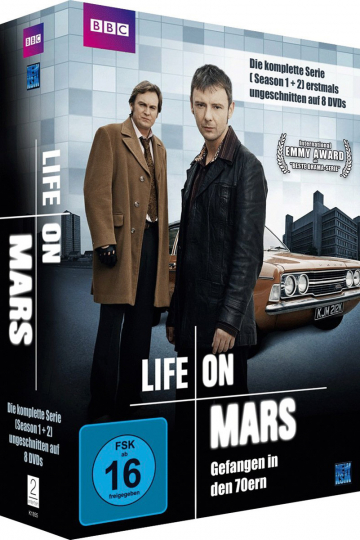 Life On Mars (Komplette Serie). 8 DVDs