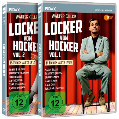 Locker vom Hocker (Komplette Serie). 4 DVDs