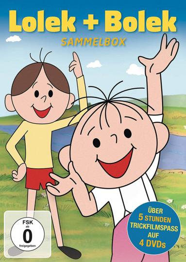 Lolek & Bolek (Sammelbox). 4 DVDs.