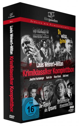 Louis Weinert-Wilton Krimi-Klassiker (Komplettbox). 4 DVDs.