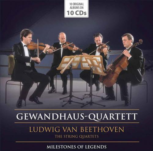 Ludwig Van Beethoven. Die Streichquartette. 10 CDs.