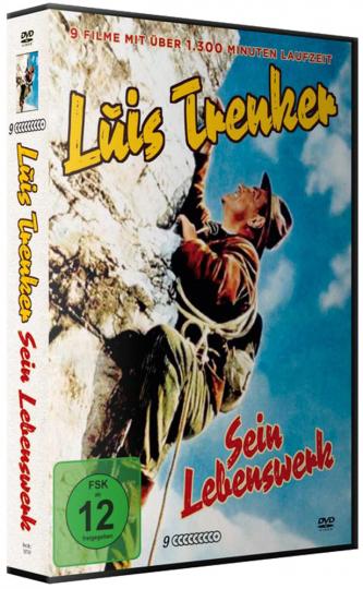 Luis Trenker - Sein Lebenswerk. 9 DVDs.