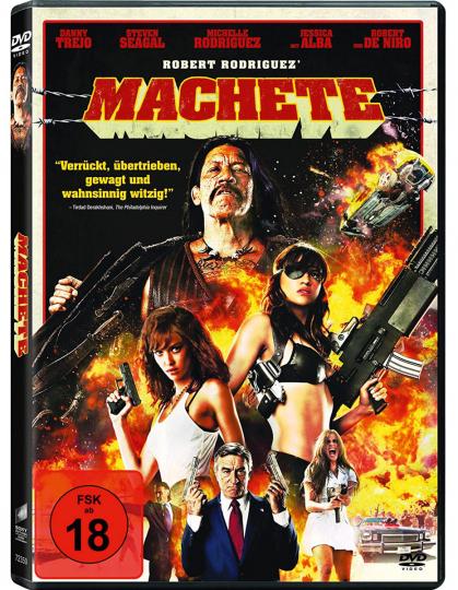 Machete. DVD