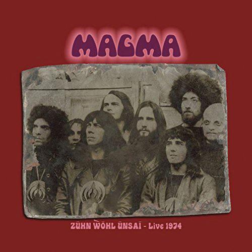 Magma. Zühn Wöhl Ünsai Live 1974. 2 CDs.