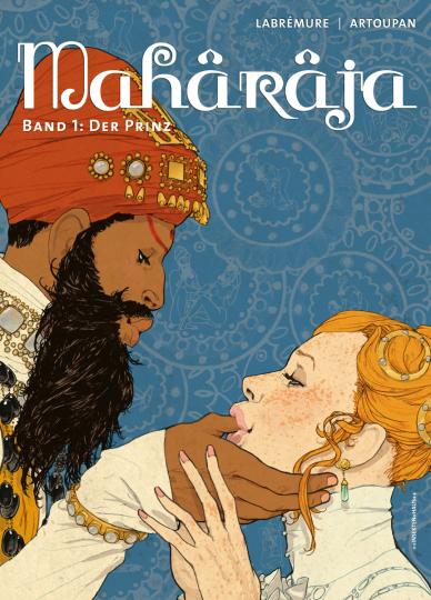 Maharaja. Band 1. Der Prinz. Comic.