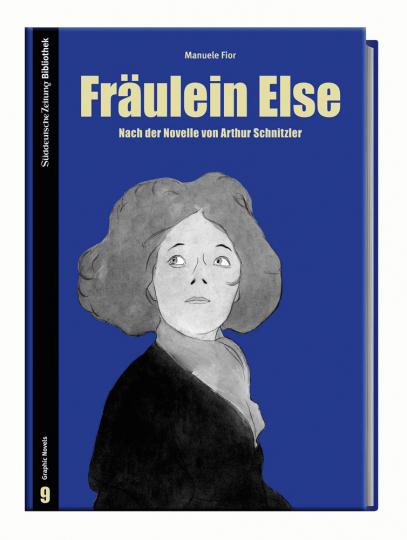 Manuele Fior. Fräulein Else. Graphic Novel.