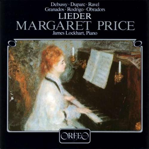 Margaret Price singt Lieder. CD.