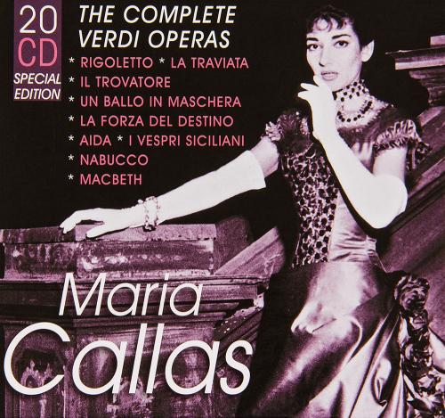 Maria Callas. The Complete Verdi Operas. 20 CD-Set.
