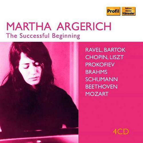 Martha Argerich - The Successful Beginning. 4 CDs.