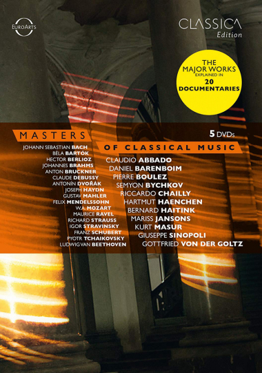 Masters of Classical Music 5 DVDs