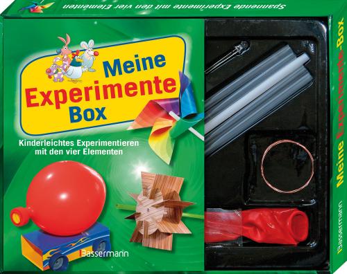 Meine Experimente-Box-Set. Kinderleichtes Experimentieren mit den vier Elementen.