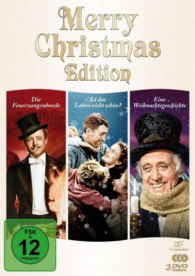 Merry Christmas Edition. 3 DVD