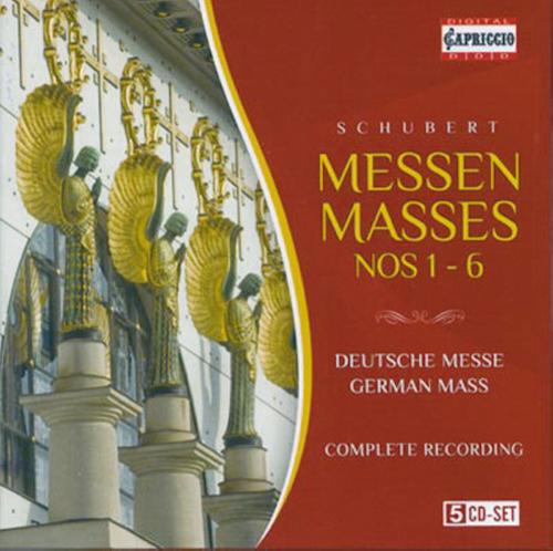 Messen No. 1-6  5 CDs