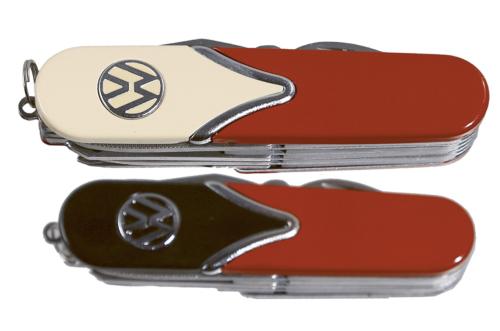 Metall-Taschenmesser »VW«.