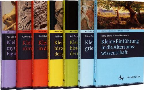 Metzler Basisbibliothek Antike, 7 Bände.
