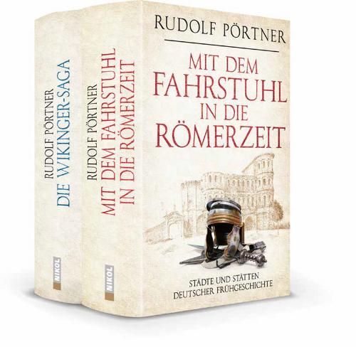 Mit dem Fahrstuhl in die Römerzeit. Städte und Stätten deutscher Frühgeschichte. Die Wikinger - Saga. 2 Bände.