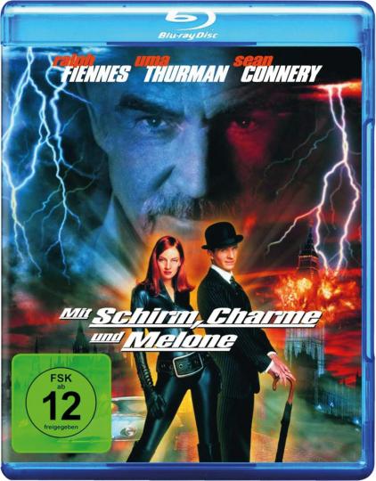 Mit Schirm, Charme und Melone. Blu-ray.
