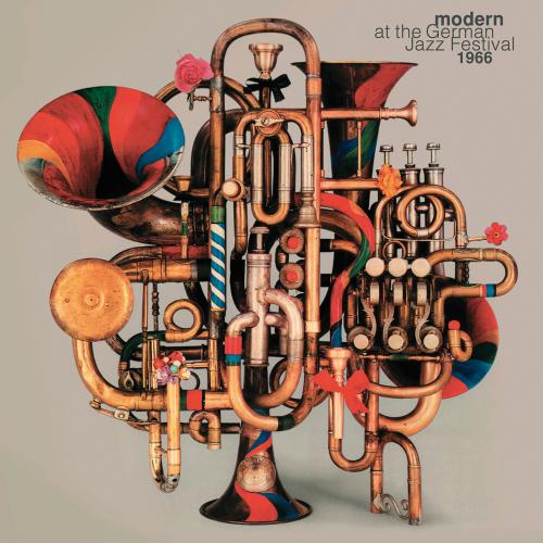 Modern at the German Jazz Festival 1966. 2 Vinyl LPs.