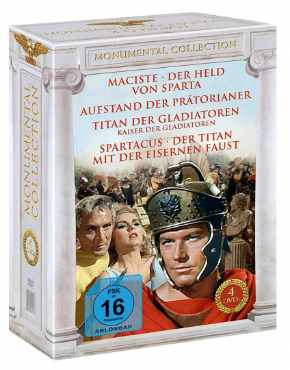 Monumental Kollektion. 4 DVDs