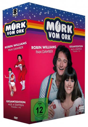 Mork vom Ork (Gesamtedition). 14 DVDs.