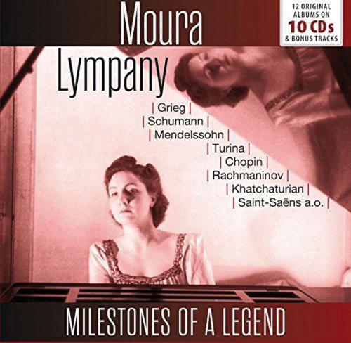 Moura Lympany. Milestones of a Legend. 10 CDs.