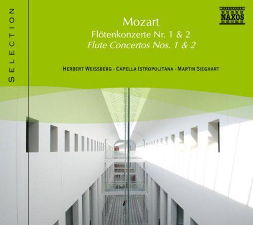 Mozart. Flötenkonzerte Nr.1 & 2. CD.