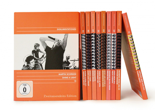 Musik-Doku Paket. 10 DVDs