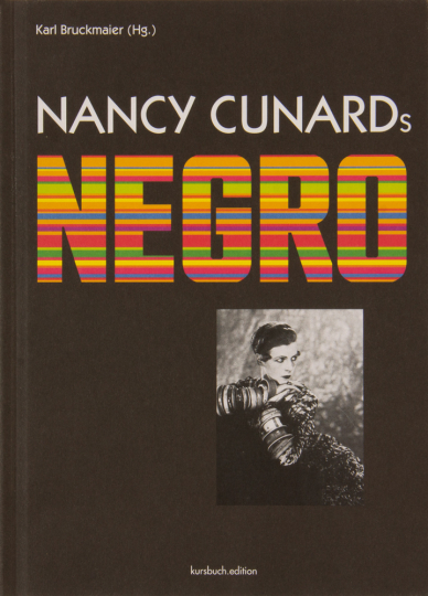 Nancy Cunards. Negro.