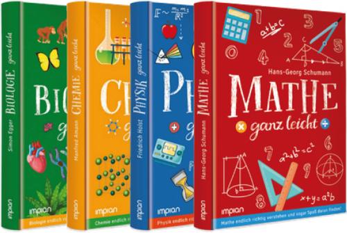 Naturwissenschaften ganz leicht. 4 Bände im Paket.