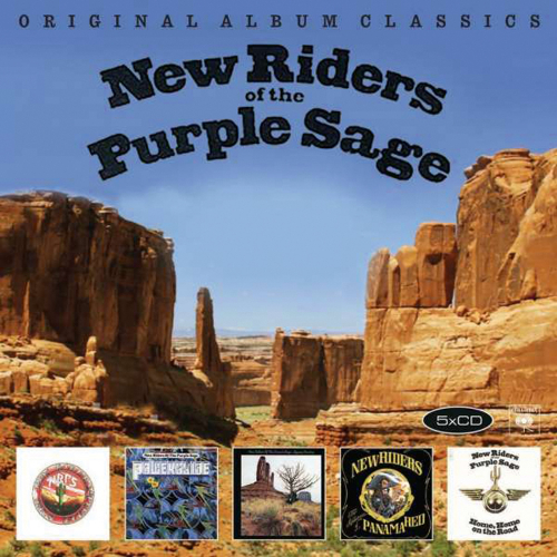 New Riders Of The Purple Sage. Original Album Classics. 5 CDs.