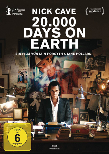 Nick Cave. 20.000 Days on Earth. DVD.